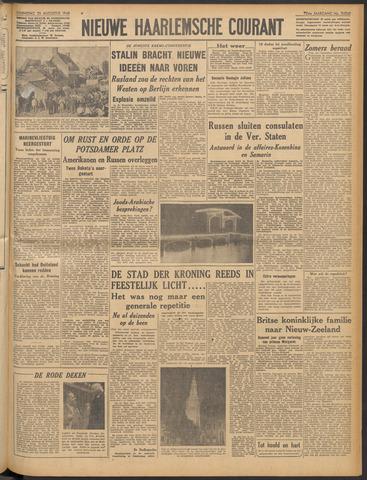 Nieuwe Haarlemsche Courant 1948-08-25
