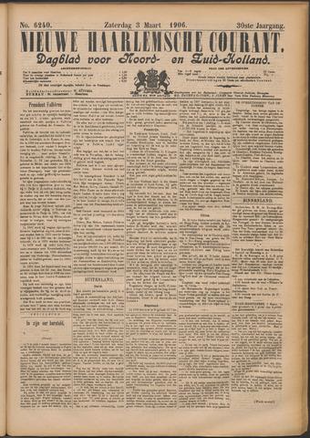 Nieuwe Haarlemsche Courant 1906-03-03