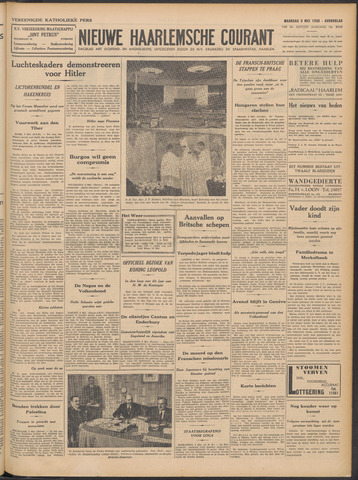 Nieuwe Haarlemsche Courant 1938-05-09