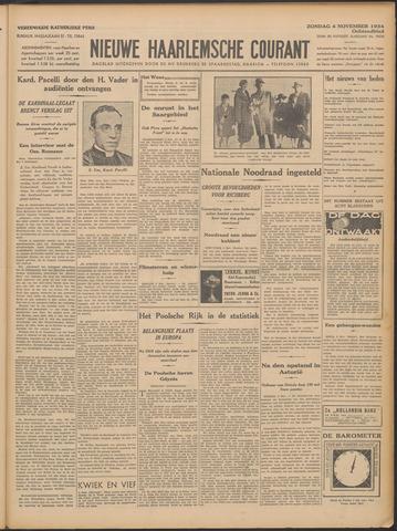 Nieuwe Haarlemsche Courant 1934-11-04