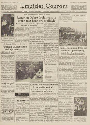 IJmuider Courant 1959-10-07