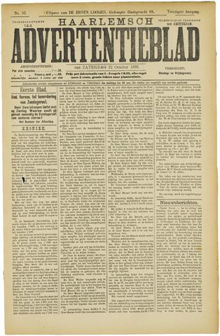 Haarlemsch Advertentieblad 1898-10-22