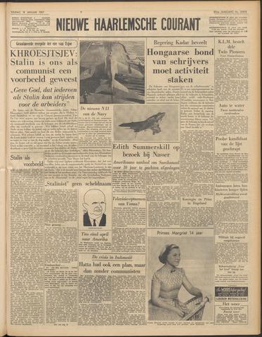 Nieuwe Haarlemsche Courant 1957-01-18