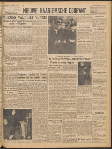 Nieuwe Haarlemsche Courant 1949-02-07