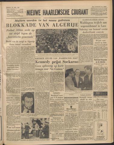 Nieuwe Haarlemsche Courant 1961-04-25