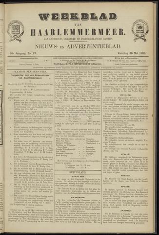 Weekblad van Haarlemmermeer 1885-05-30
