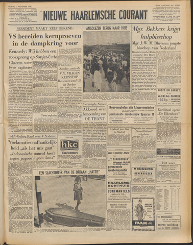 Nieuwe Haarlemsche Courant 1961-11-03