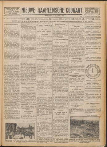 Nieuwe Haarlemsche Courant 1930-04-16