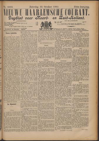 Nieuwe Haarlemsche Courant 1905-10-14