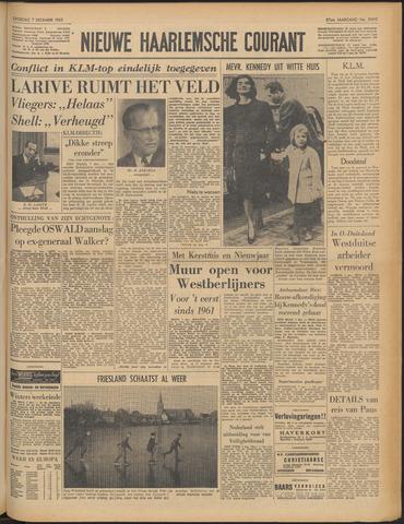 Nieuwe Haarlemsche Courant 1963-12-07