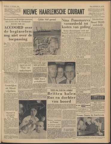 Nieuwe Haarlemsche Courant 1956-10-13