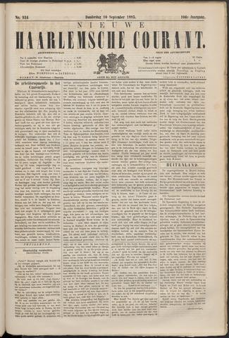 Nieuwe Haarlemsche Courant 1885-09-10