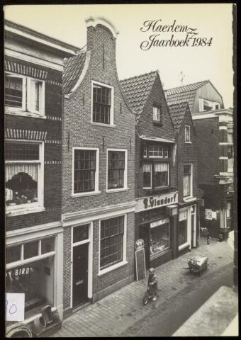 Jaarverslagen en Jaarboeken Vereniging Haerlem 1984