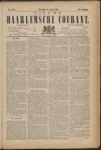 Nieuwe Haarlemsche Courant 1889-01-16