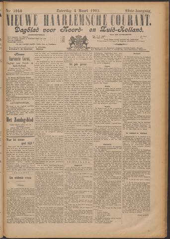 Nieuwe Haarlemsche Courant 1905-03-04