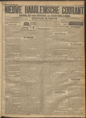 Nieuwe Haarlemsche Courant 1916-08-19