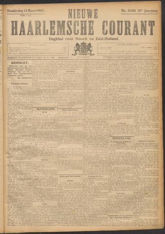 Nieuwe Haarlemsche Courant 1907-03-14