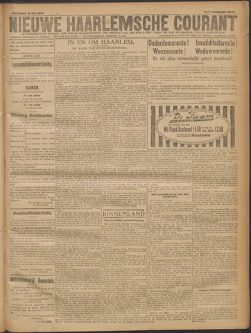 Nieuwe Haarlemsche Courant 1919-07-19