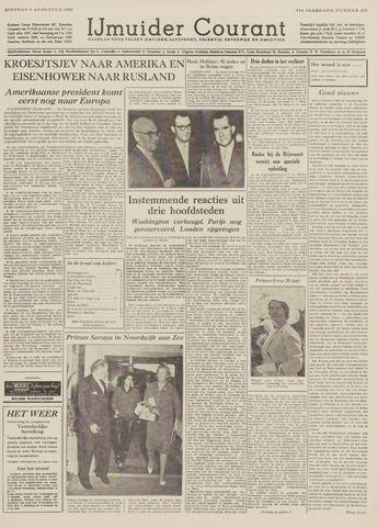 IJmuider Courant 1959-08-04