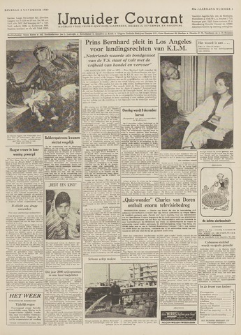 IJmuider Courant 1959-11-03