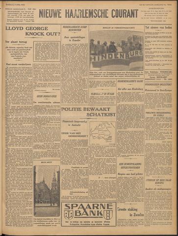 Nieuwe Haarlemsche Courant 1932-04-09
