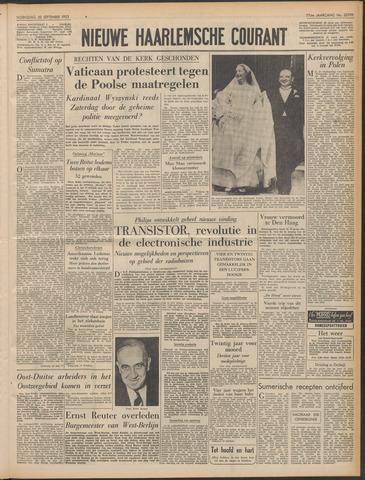 Nieuwe Haarlemsche Courant 1953-09-30