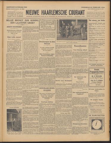 Nieuwe Haarlemsche Courant 1934-02-21
