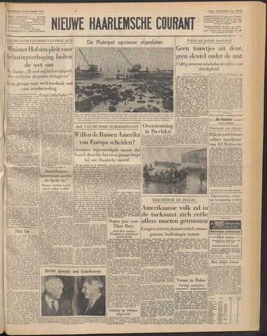 Nieuwe Haarlemsche Courant 1957-11-14