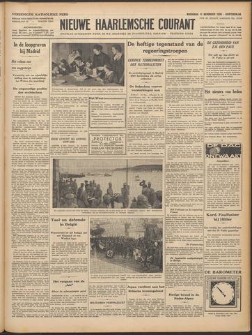 Nieuwe Haarlemsche Courant 1936-11-11