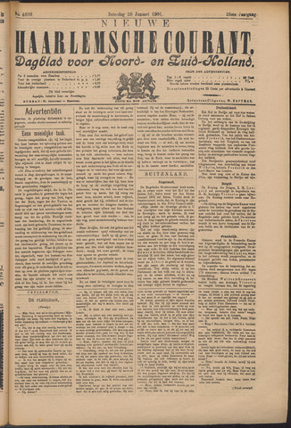 Nieuwe Haarlemsche Courant 1901-01-26