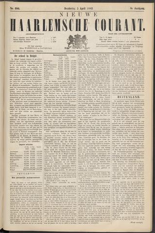 Nieuwe Haarlemsche Courant 1883-04-05