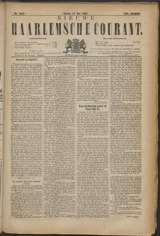Nieuwe Haarlemsche Courant 1892-05-15