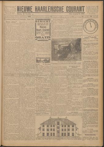 Nieuwe Haarlemsche Courant 1925-12-22