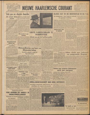 Nieuwe Haarlemsche Courant 1951-04-02