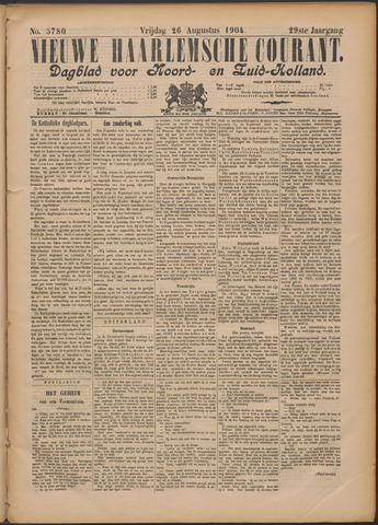 Nieuwe Haarlemsche Courant 1904-08-26