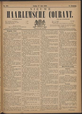 Nieuwe Haarlemsche Courant 1880-06-27