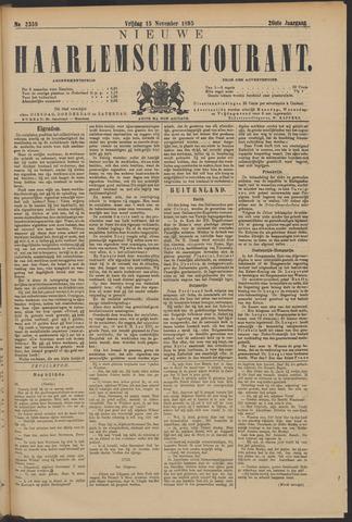 Nieuwe Haarlemsche Courant 1895-11-15