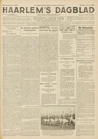 Haarlem's Dagblad 1935-07-24
