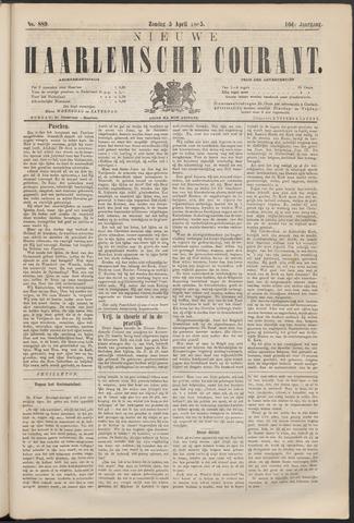 Nieuwe Haarlemsche Courant 1885-04-05