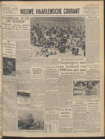 Nieuwe Haarlemsche Courant 1956-07-09