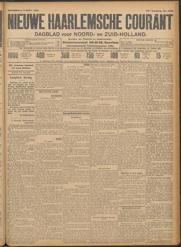 Nieuwe Haarlemsche Courant 1909-09-09