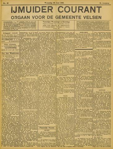IJmuider Courant 1921-06-22