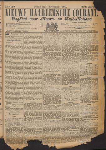 Nieuwe Haarlemsche Courant 1900-11-01