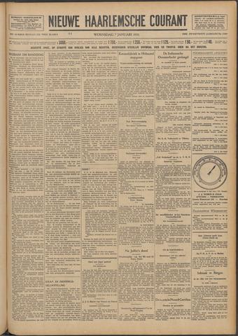 Nieuwe Haarlemsche Courant 1931-01-07
