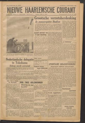 Nieuwe Haarlemsche Courant 1945-09-01