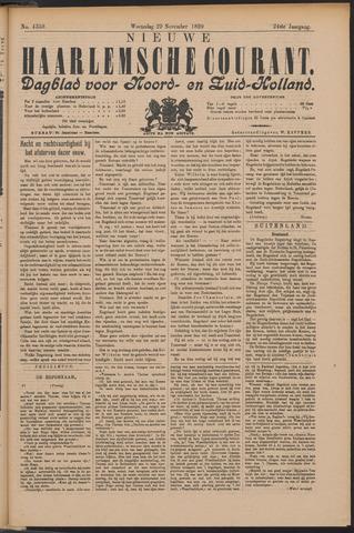 Nieuwe Haarlemsche Courant 1899-11-29