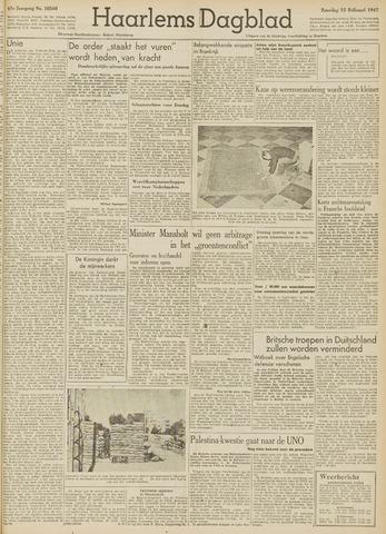 Haarlem's Dagblad 1947-02-15