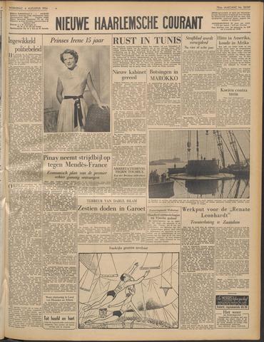 Nieuwe Haarlemsche Courant 1954-08-04