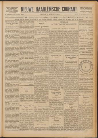 Nieuwe Haarlemsche Courant 1931-08-14