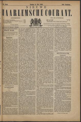 Nieuwe Haarlemsche Courant 1893-05-21